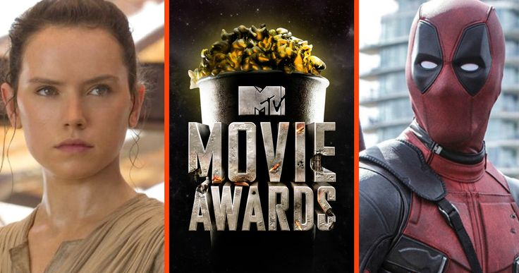 'Star Wars' & 'Deadpool' Lead 2016 MTV Movie Awards Nominations -- Disney's global blockbuster 'Star Wars: The Force Awakens' leads with 11 MTV Movie Awards nominations, followed by 'Deadpool' with eight. -- http://movieweb.com/mtv-movie-awards-2016-star-wars-force-awakens-deadpool/