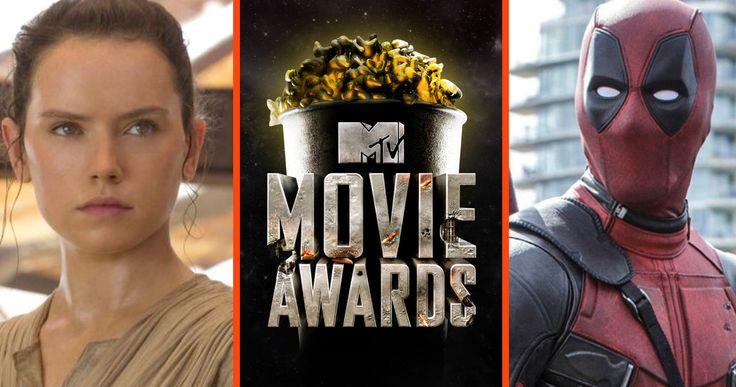 'Star Wars' & 'Deadpool' Lead 2016 MTV Movie Awards Nominations -- Disney's global blockbuster 'Star Wars: The Force Awakens' leads with 11 MTV Movie Awards nominations, followed by 'Deadpool' with eight. -- http://movieweb.com/mtv-movie-awards-2016-star-wars-force-awakens-deadpool/