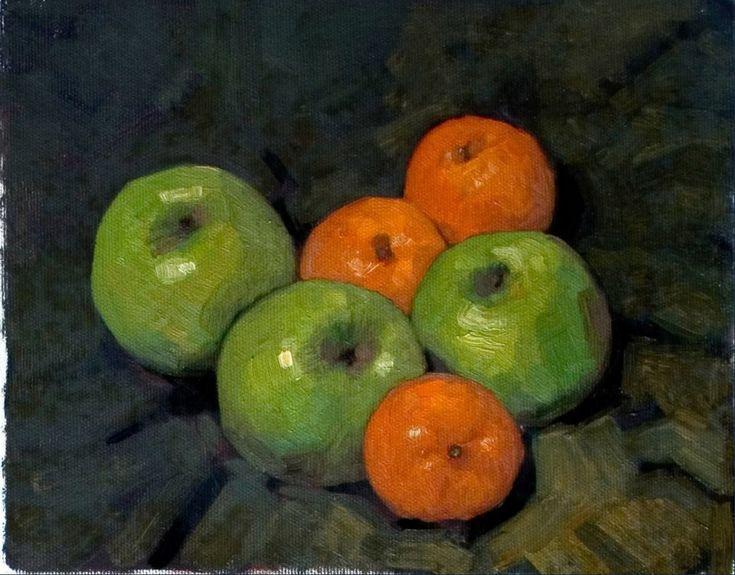 Olivier Payeur - Oranges and Apples