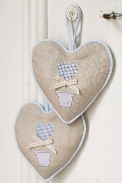 Topiary scented hanging heart