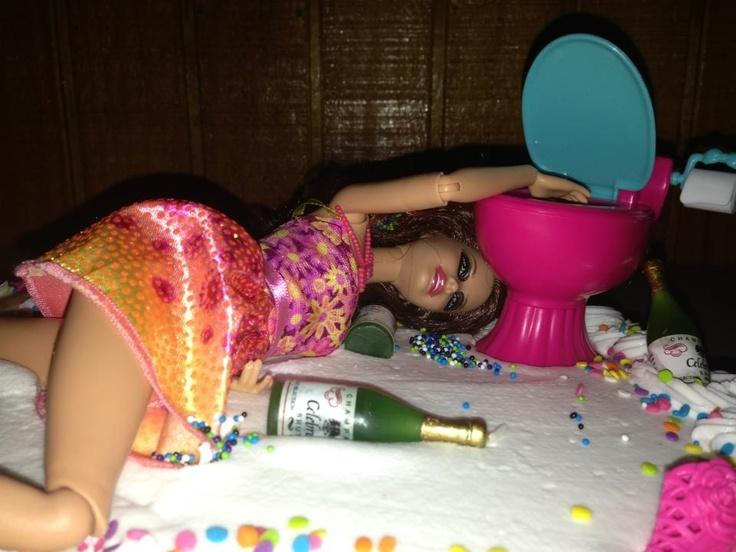 Erika Barbie 21st Birthday Cake