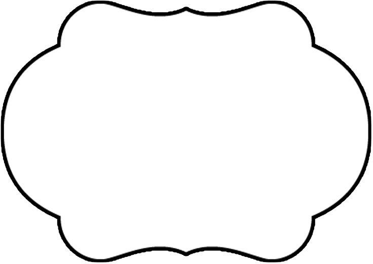 Montando minha festa: Moldes para plaquinhas divertidas preto e branco PNG