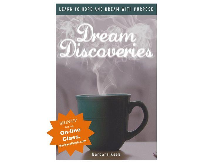 Come join me for an online biblical dream interpretation class.