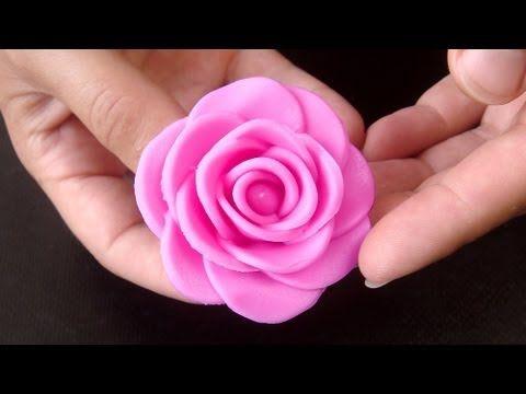 How to Make a Fondant Rose, 17 Petals