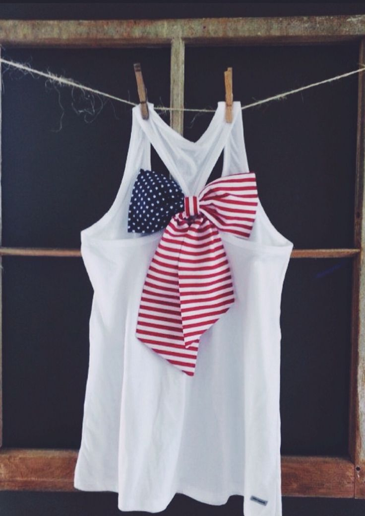 For 4th of july in usa this would be super cute
