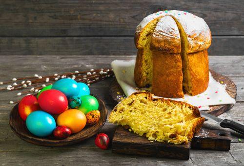 ¡Con este panettone de Pascua sorprenderás a todos tus invitados!  #panettonedePascua #recetasitalianas #cocinaitaliana #gastronomíaitaliana #postresdePascua