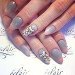 Ombre #nude  #nails  #nailart  #nailporn  #nailswag