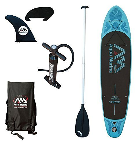 Aqua Marina BT-88882P Vapor Inflatable Stand-up Paddle Board  The best value on an inflatable paddleboard. Click now .