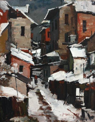 + Jean Cheller – Iarna în mahala