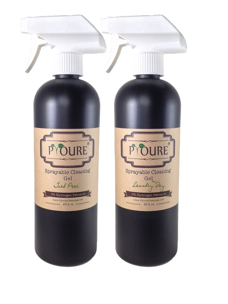 Sprayable Cleaning Gel - 3% Hydrogen Peroxide Cleaner- 2 Pack  #organizing #hydrogenperoxide #ilovepyoure #cleaningtime #cleaningtips #aromatherapy #hydrogenperoxidecleaner #cleanhouse #nontoxiccleaning #neatfreak Awesome Hydrogen Peroxide Cleaners and More!
