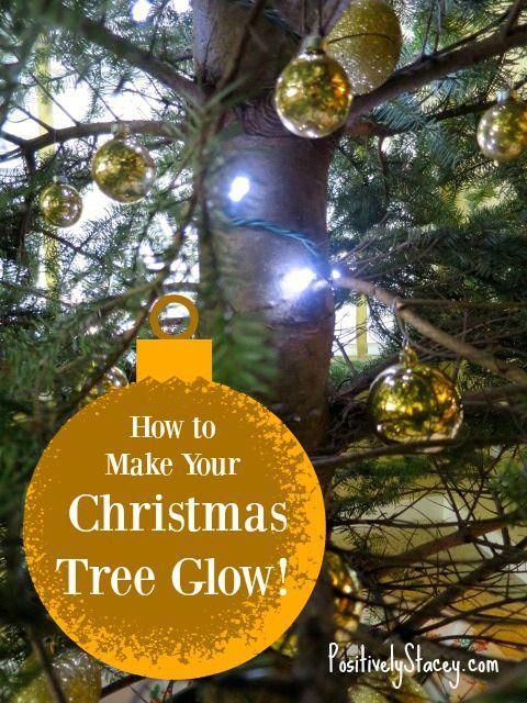 How to Make Your Christmas Tree Glow! This is my amazing trick to really  make your tree shine! #christmaslightstips - How To Make Your Christmas Tree Glow And How To Fix Broken Christmas