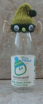 Innocent Smoothies Big Knit Hat Pattern - Elf