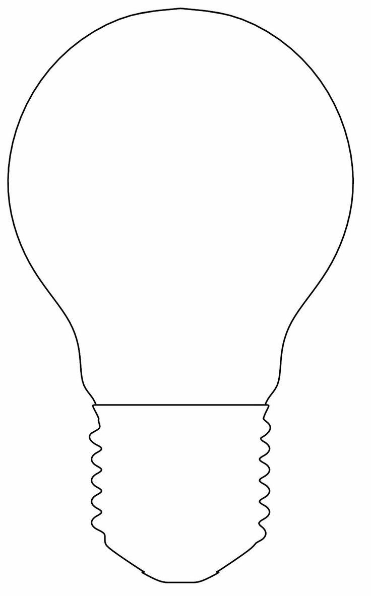 Excellent Image of Light Bulb Coloring Page - entitlementtrap.com