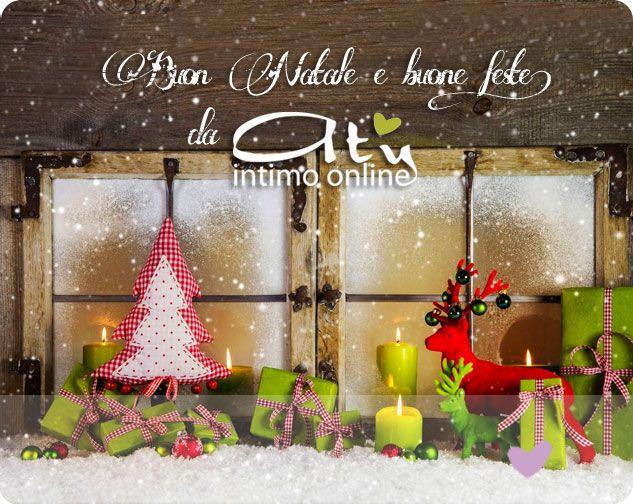 Buon #Natale e Buone Feste da Aty Intimo Online! http://www.atyintimoonline.it  #Natale2014 #BuonNatale