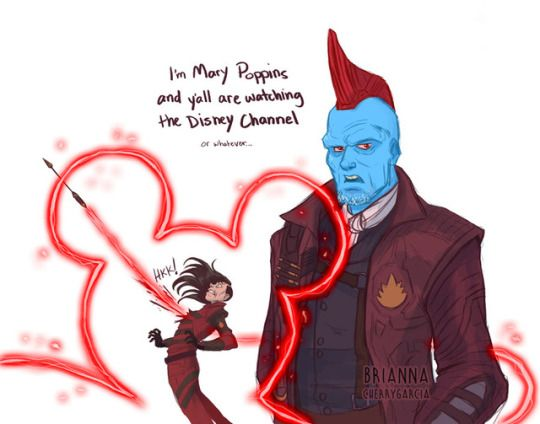 Heeheehee | guardians of the galaxy volume 2 | yondu | Disney channel | Mary poppins
