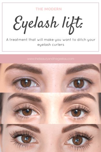 eyelash lift. the eyelash lift: a treatment that will make you want to ditch your lash curlers lift