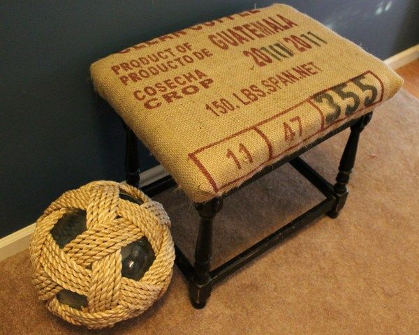 1000 images about crafts ohhhh i can do that on pinterest for Burlap bag craft ideas