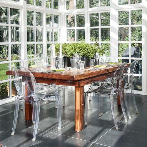 Cadeiras Transparentes | chataspradecorar.com.br                                                                                                                                                                                 Mais