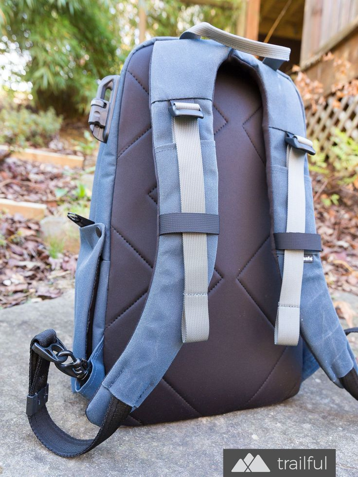 Our favorite anti-theft backpacks for travel: the Pacsafe Intasafe is a roomy laptop backpack with room for cameras and lenses, and security features like a slash-proof steel eXomesh and RFID blocking protection