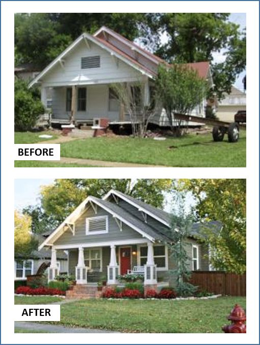 6 Jaw-Dropping Curb-Appeal Makeovers