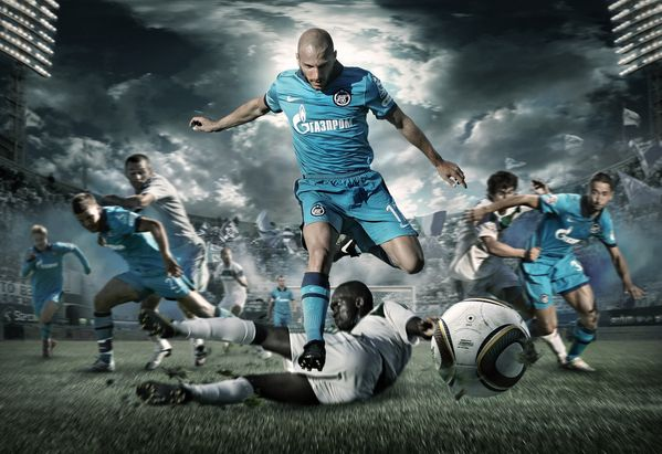 FC Zenit posters and 2011 calendar by SpecialOne , via Behance