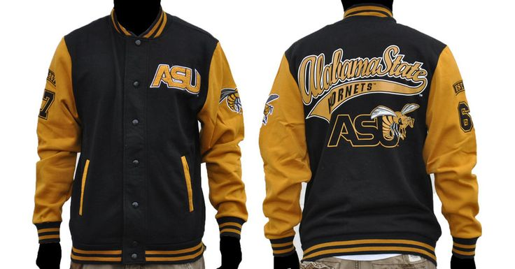 Alabama State University Fleece Jacket- Style 1 - Brothers and Sisters' Greek Store