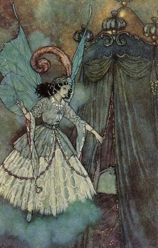 Arthur Rackham, from Sleeping Beauty maybe?