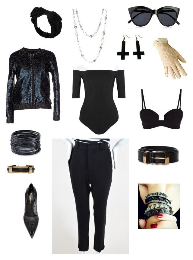 STILING_1 by alyants-stylist on Polyvore featuring мода, Brian Dales, Body Editions, Marni, Prism, Yves Saint Laurent, Plukka, Charles Krypell, Isabel Marant and ABS by Allen Schwartz