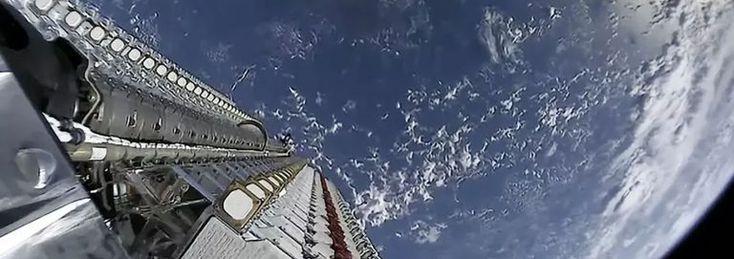 SpaceX Laat Satellieten Los In Ruimte En Het Is Tofste Wat