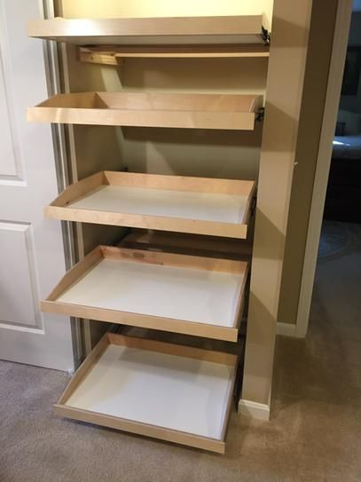 Slide A Shelf Made To Fit Slide Out Shelf 6 In To 36 In