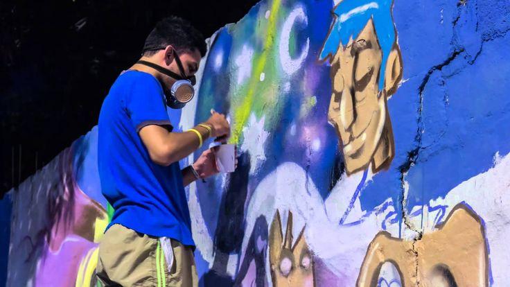 Graffiti TimeLapse - Mooral