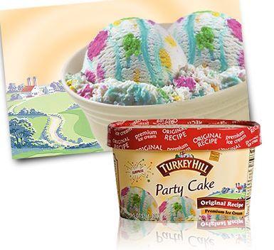 Turkey hill birthday cake