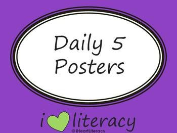 {FREE} The Daily Five Posters - Daily 5 | iHeartLiteracy