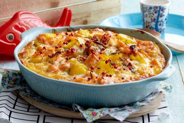 Unser beliebtes Rezept für Lachs-Kartoffel-Auflauf und mehr als 55.000 weitere kostenlose Rezepte auf LECKER.de.