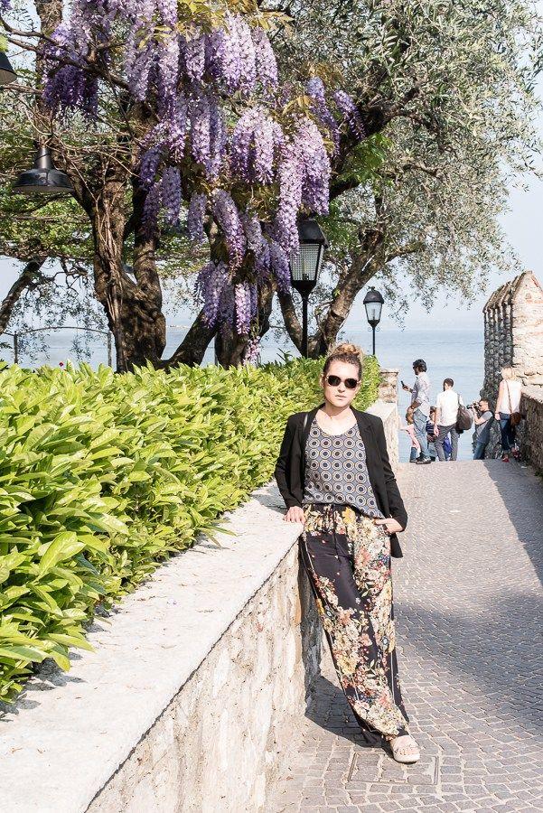 A wonderful day in Sirmione at Lake Garda
