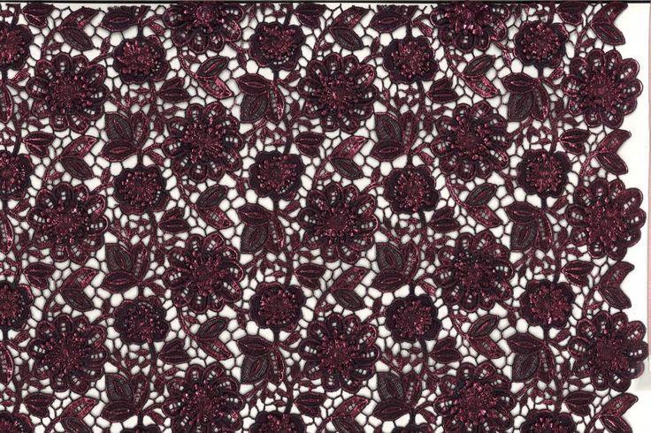 Metallic Guipure Lace