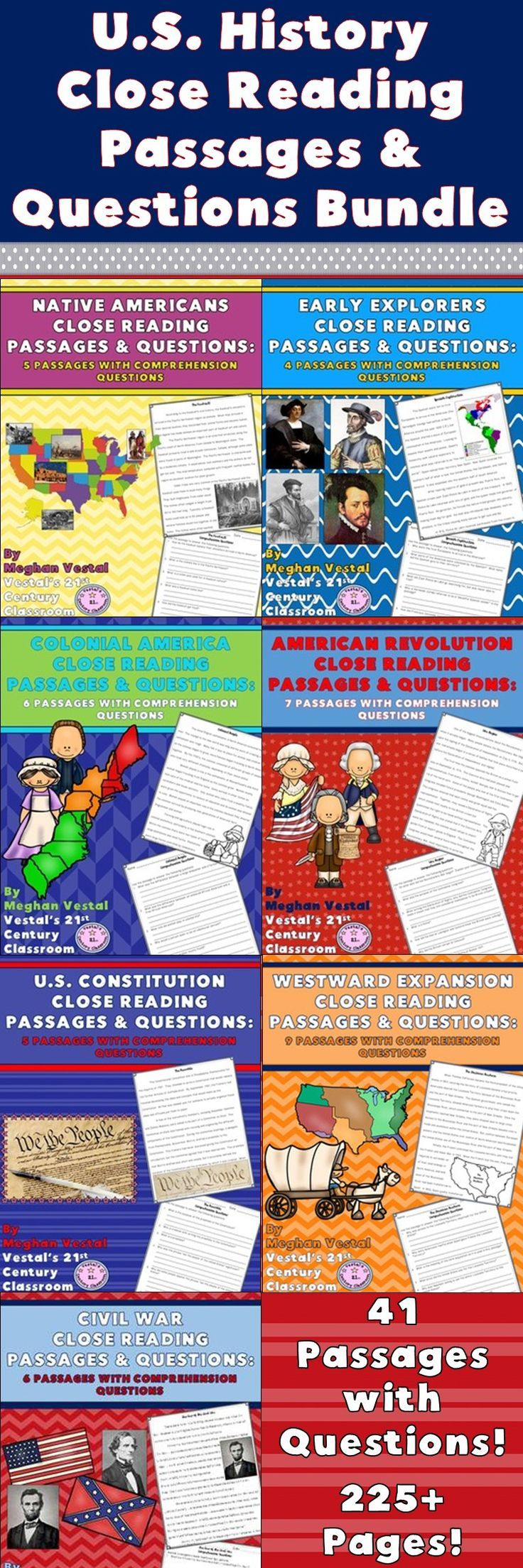 close reading of the passage of New close read passages guide students to uncover layers of meaning within a  text, deepen their comprehension, and participate in group discussions.