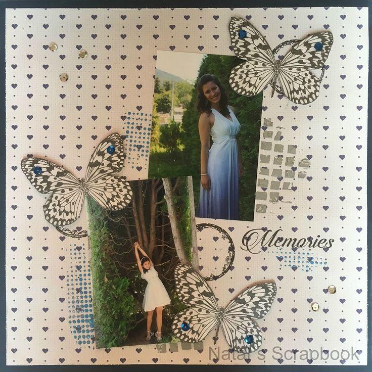 Motýlí layout (Butterfly layout)