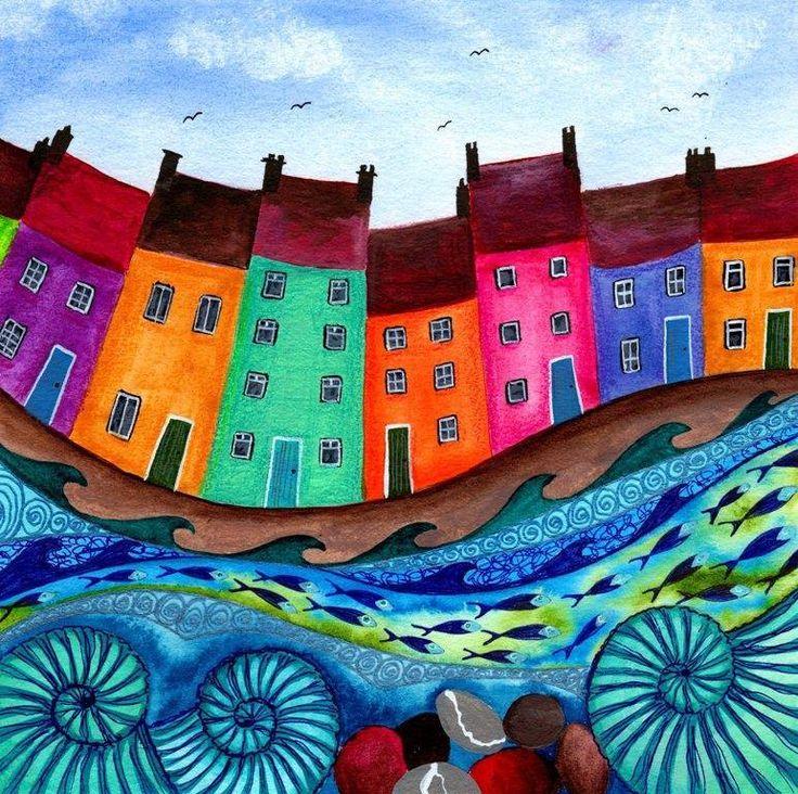artist Bridget Wilkinson, U.K.