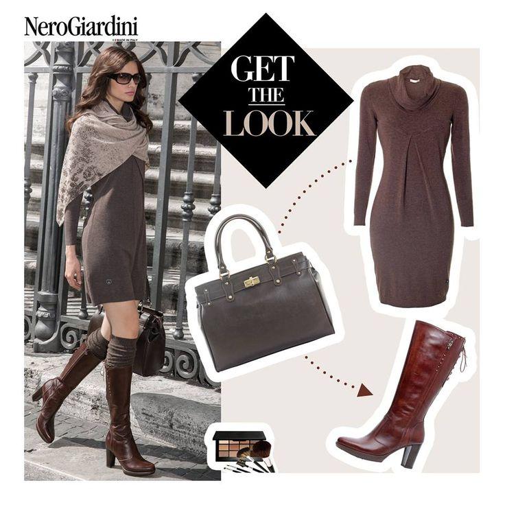 nero giardini brown look