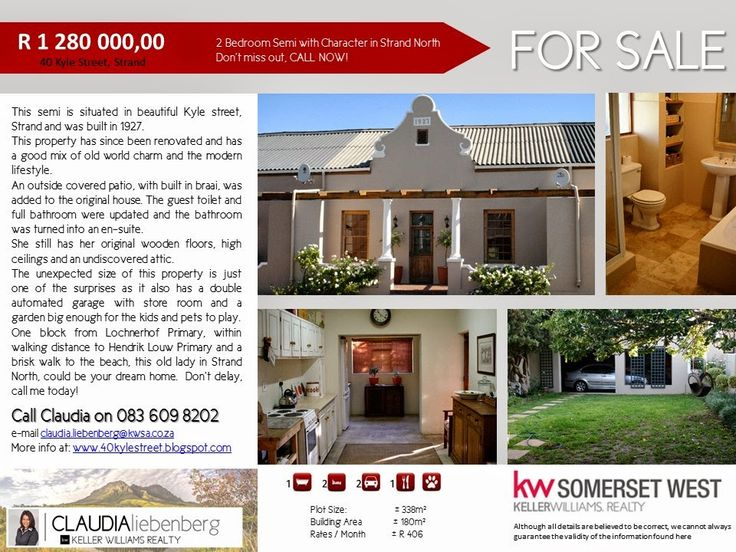 For Sale in Strand North, South Africa