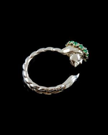 "Saatchi Art Artist Anna Lubo; Sculpture, ""Slavic Woman Ring / Limited Edition "" #art"