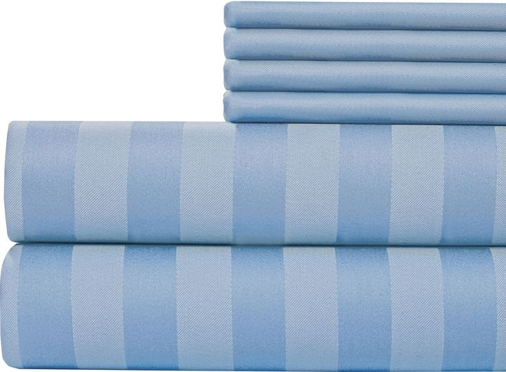 6 Piece 1000 Thread Count Sheet Set