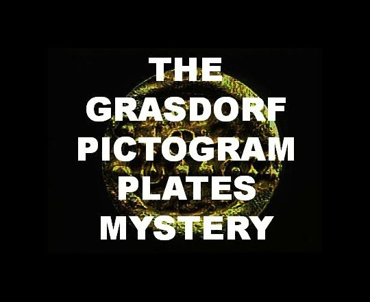 The Grasdorf Pictogram Plates Mystery - http://www.profoundhistory.com/2017/10/the-grasdorf-pictogram-plates-mystery.html - crop circles, extraterrestrial technology, Germany, Grasdorf Pictogram, OVNI, physical evidence, UFOs, unexplained phenomena