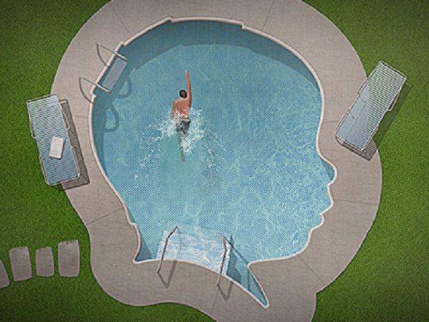 Juegos en la piscina para niños con autismo. María Tudela.