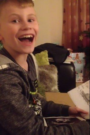 This 10-Year-Old's Happy Tears After Learning He's Going To Be A Brother Will Melt Your Heart