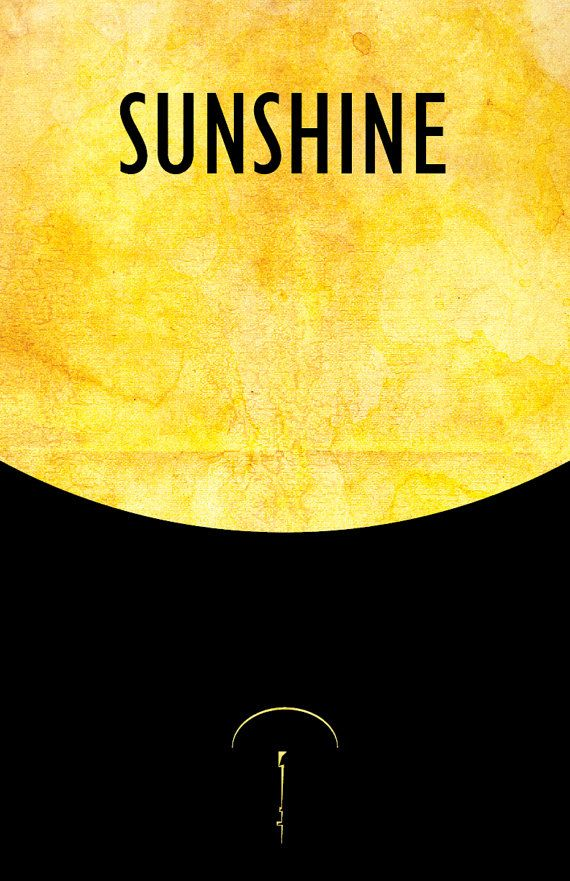 Scifi Horror Movie Poster // Sunshine // 11x17 Vintage ...