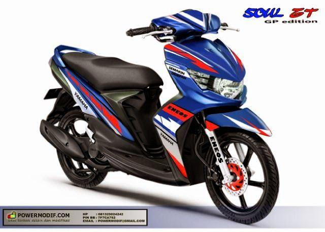 Decal mio soul GT Konsep motor GP - PowerModif