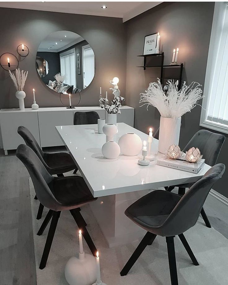 • Advertisement / Advertising • Dining Room #well #interior #m #sch #interio…