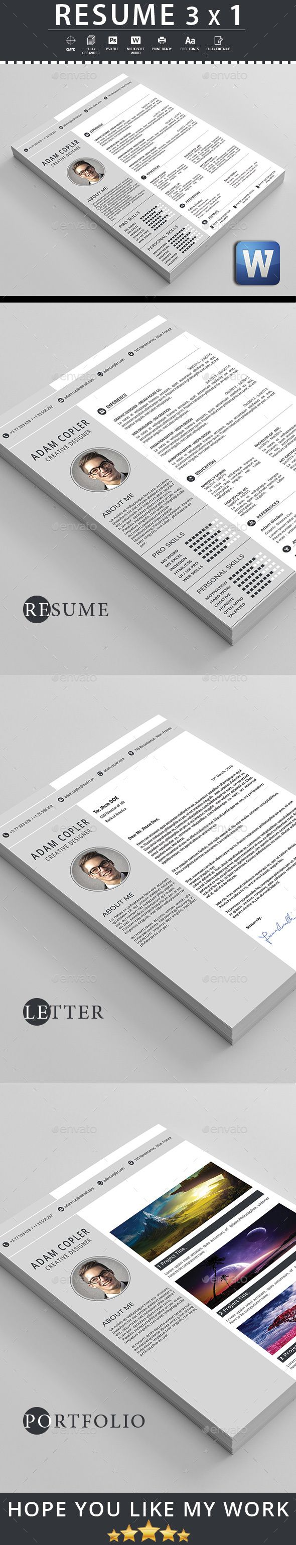 Resume 207 best Graphic design cv